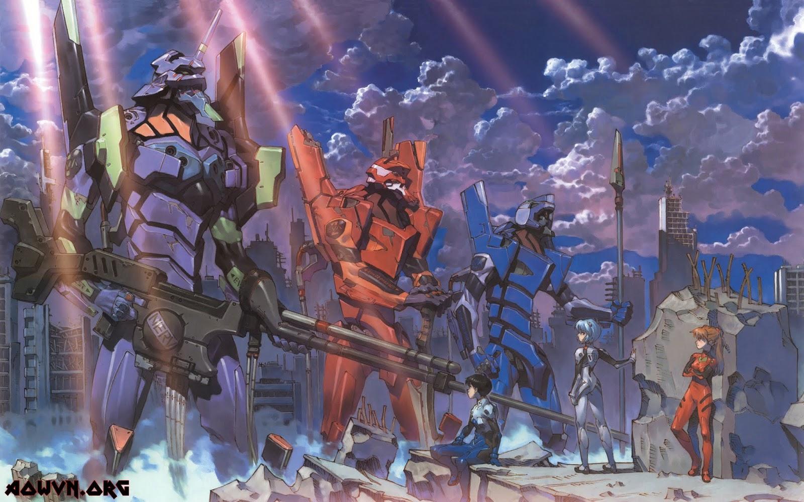 rabstol net evangelion 02 - [Anime 3gp Mp4 ] Neon Genesis Evangelion TV + 5 Movie + Movie Parody + Special BD | Vietsub - Mecha huyền thoại - Kịch tích - Max hay!!