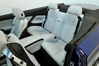 The new BMW M6 Convertible interior back