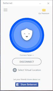 تحميل برنامج BETTERNET VPN 2018  لفتح المواقع المحجوبة