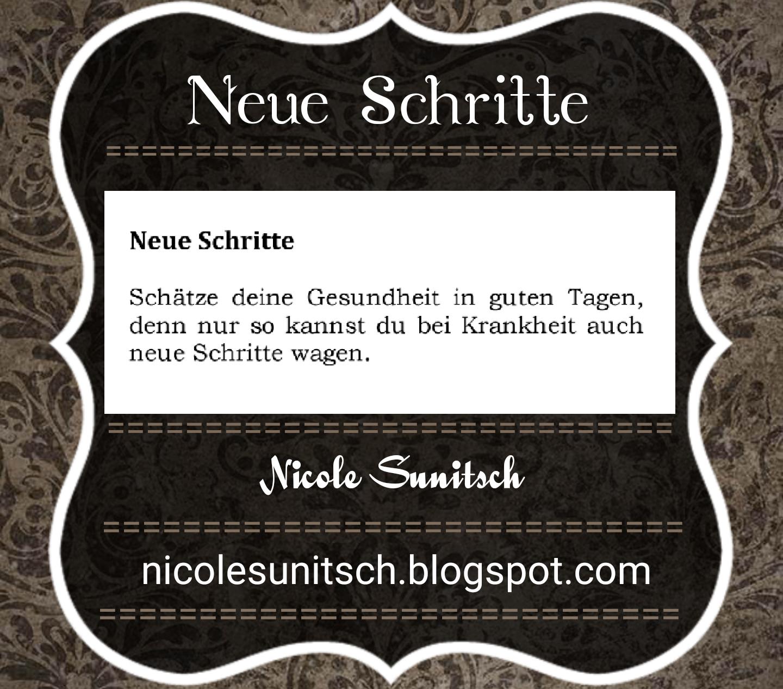Gedichte Von Nicole Sunitsch Autorin Neue Schritte