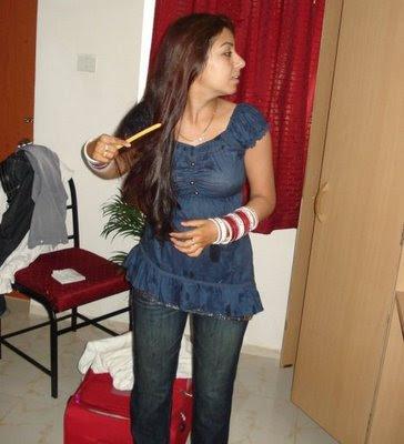 Desi Indian Girl In Indian Dress