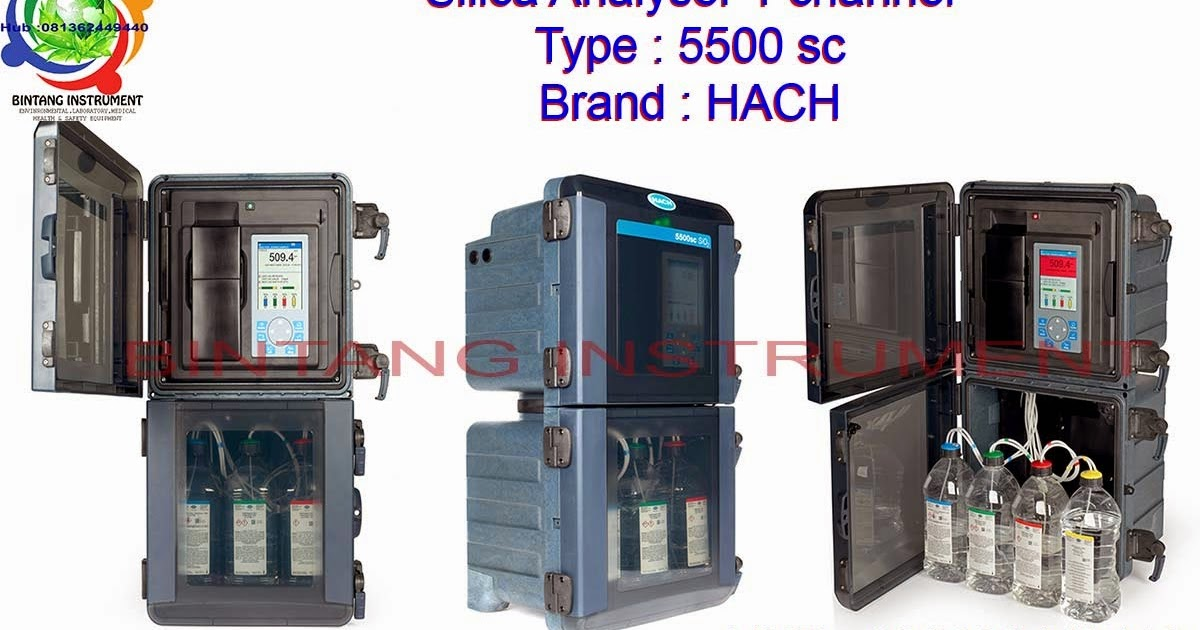 BINTANG INSTRUMENT Jual 5500sc Silica Analyzer Single