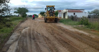 Prefeitura de Picuí continua recuperando estradas na zona rural do município
