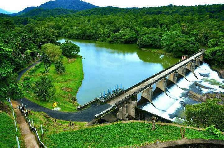 Thenmala Dam City Of Kerala India Tourism