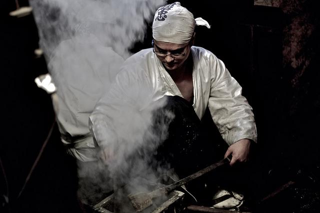 Katana Kaji, los místicos herreros de Japón