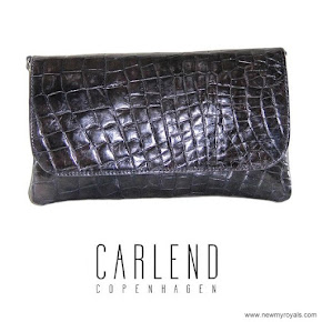 Crown Princess Mary carried Carlend Copenhagen Vanessa clutch