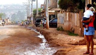 Saneamento Basico Precario no Brasil