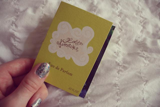 Glossybox, Anniversary Edition Lolita Lempicka perfume sample