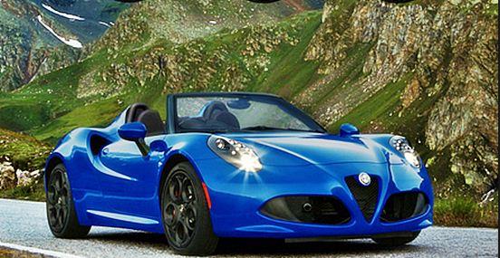2015 Alfa Romeo 4C Spider Review