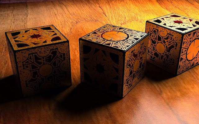 3D Magical Cube HD Wallpaper