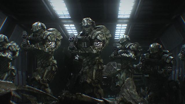quái vật vũ trụ, starship troopers invasion