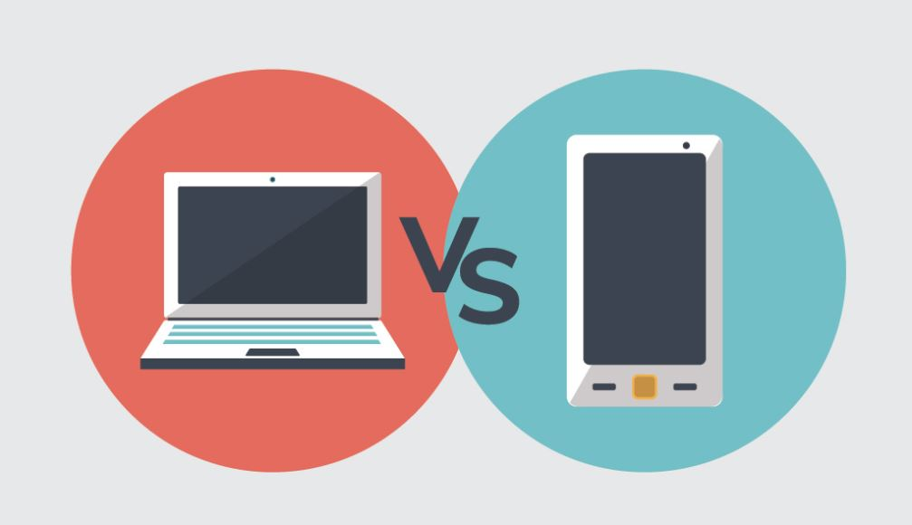 Mobile vs Desktop devices