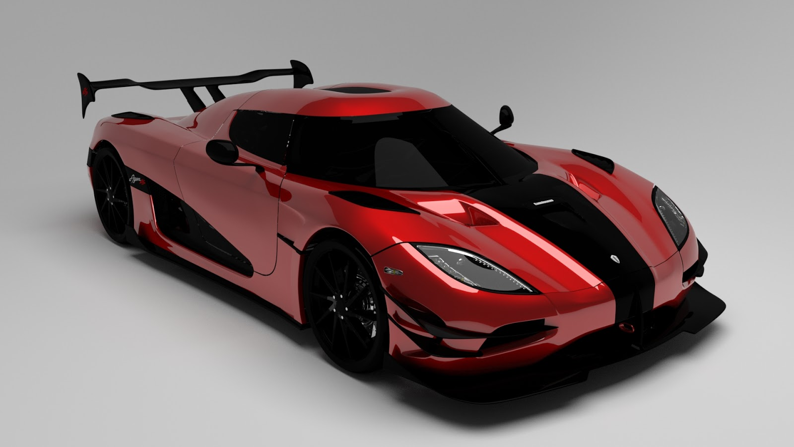 Free 3D Koenigsegg Agera RS .blend file