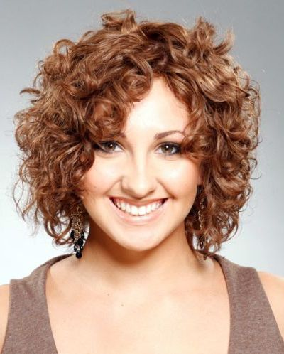 New Short Curly Hairstyles