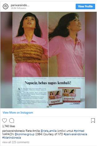 Ternyata Wanita di Iklan Lawas Ini Adalah Ibu dari Artis Ngetop di Indonesia!