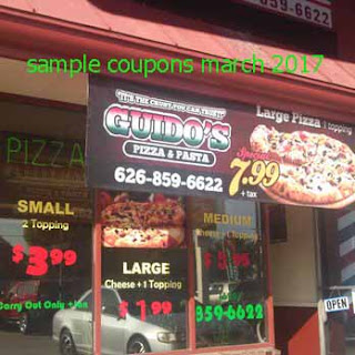free Guidos Pizza coupons for march 2017