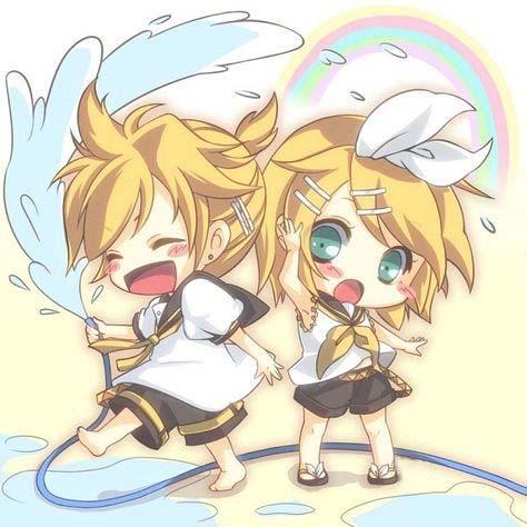 Hình ảnh anime đôi cute