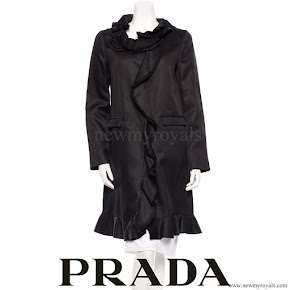 Princess Mette-Marit wore Prada Coat