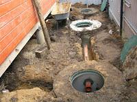 Местная канализация в частном доме