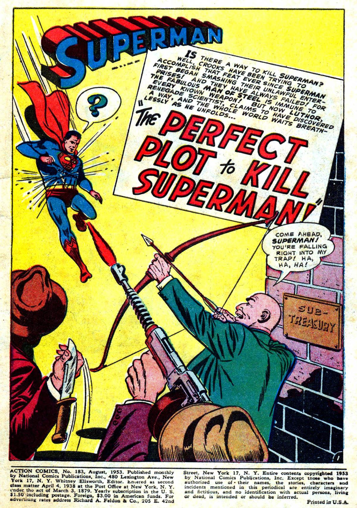 Action Comics (1938) 183 Page 2