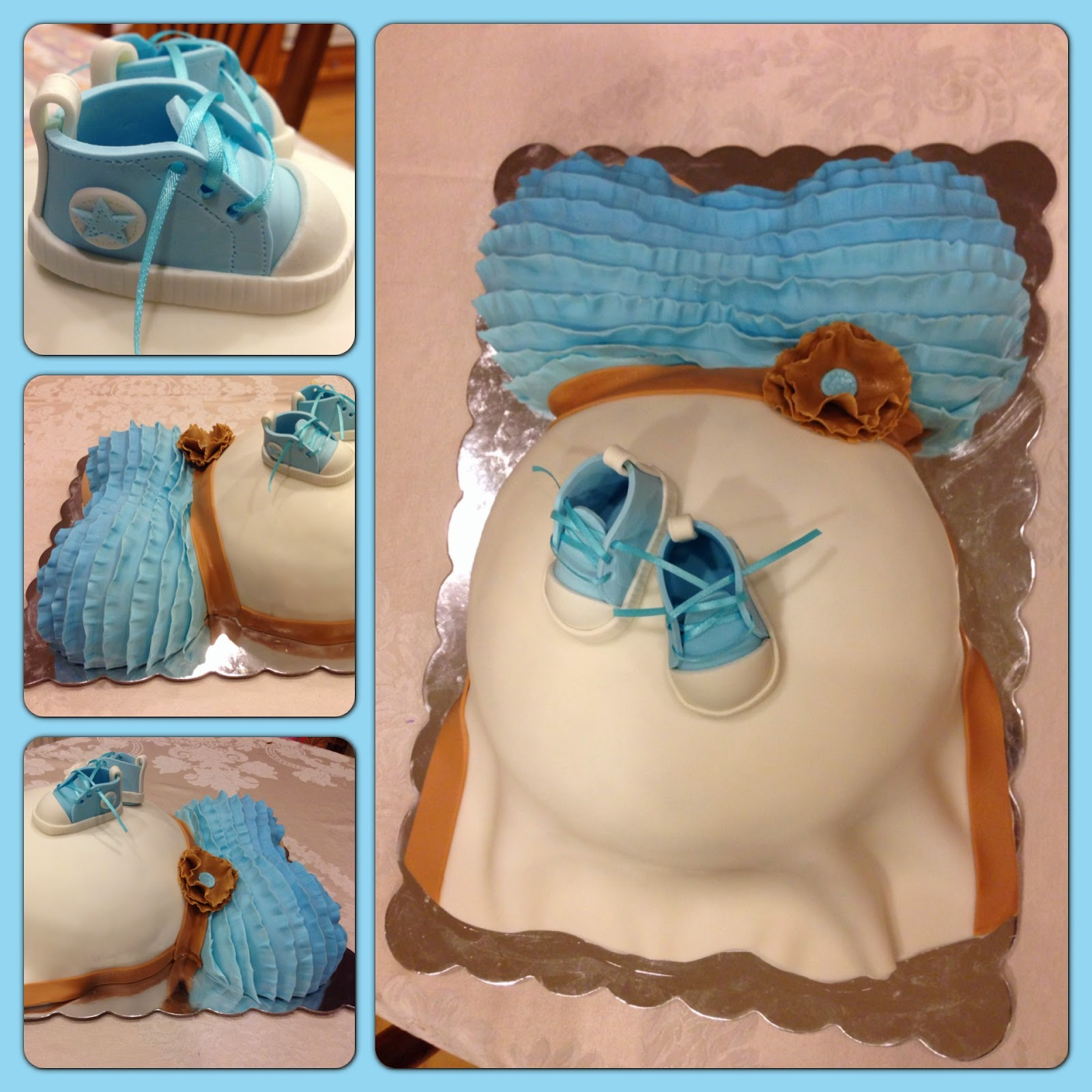Boys Baby Shower Cake: Kaylynn Cakes: Baby Shower Cakes