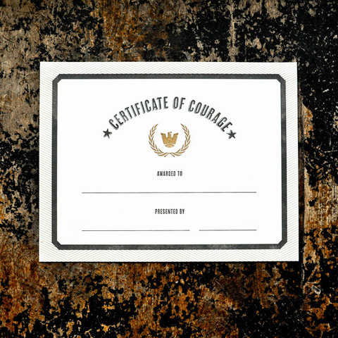 bravery certificate template - stylebeat get away camping gets rough luxe at cresto ranch