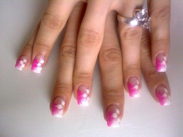 Zebra Nail Designs - Acrylic Nails | Popular Tattoo Designs