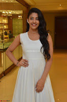 Daksha Nagarkar Cute Beauty in Sleeveless White Dress at Khwaaish Exhibition Launch 2017 ~  Exclusive 084.JPG