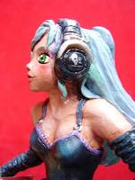 orme magiche manga girl ragazza modellini statuette sculture action figure personalizzate fatta a mano super sculpey