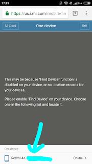 Gambar 3. Pilih smartphone
