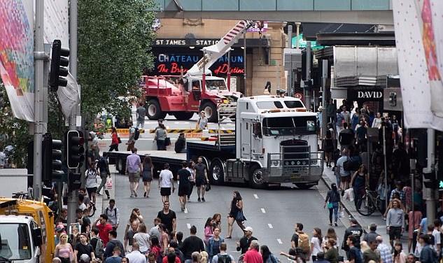 "REAL ""TRUCKS OF PEACE"" ARRIVE TO STOP TERRORIST ONES IN AUSTRALIA"