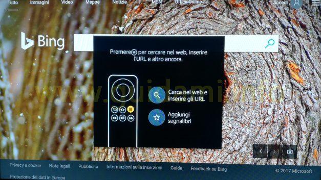 Silk Browser Fire TV schermata iniziale