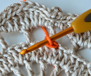 Surface slip stitch tutorial