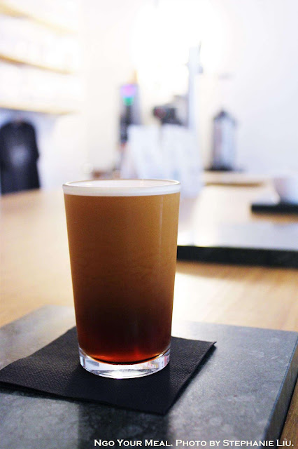 Nitro Cold Brew at Nømad Coffee in Barcelona
