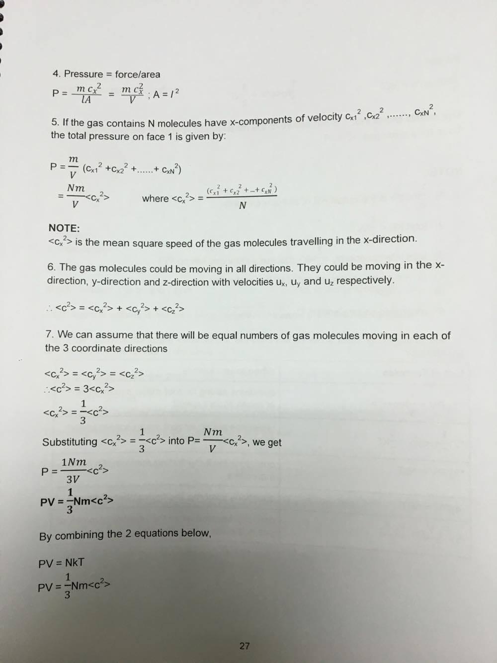 A Level Notes - mr sai mun