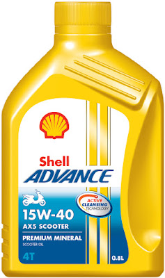 Shell Advance AX5 Scooter