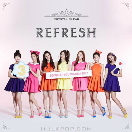CLC – REFRESH- EP (FLAC + ITUNES PLUS AAC M4A)