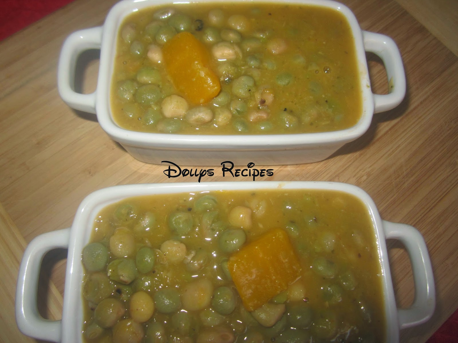 Dolly's Recipes N' More Guandules Guisados Con Coco