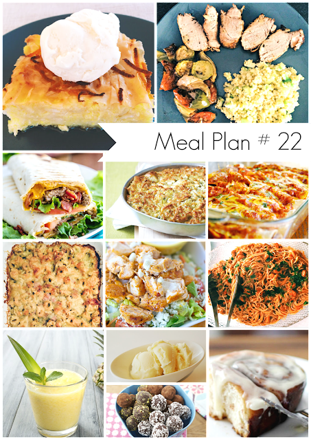 Ioanna's Notebook - Weekly meal plan - Menu Plan