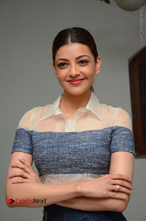 Actress Kajal Agarwal Latest Stills at Khaidi No 150 Movie Interview  0131.JPG