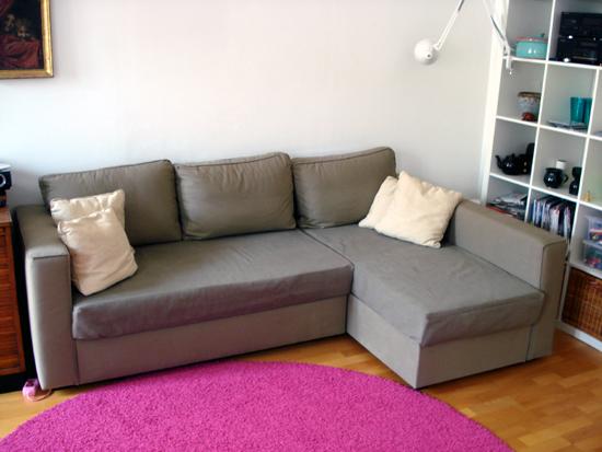 A zonzo per idee come coprire il divano letto ikea - Divano con letto estraibile ikea ...