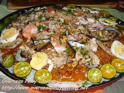 Seafood Palabok