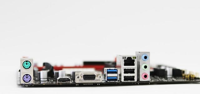 Emaxx A320 motherboard I/O ports