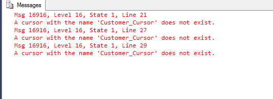 Welcome To TechBrothersIT: SQL Server Cursor Types - What is