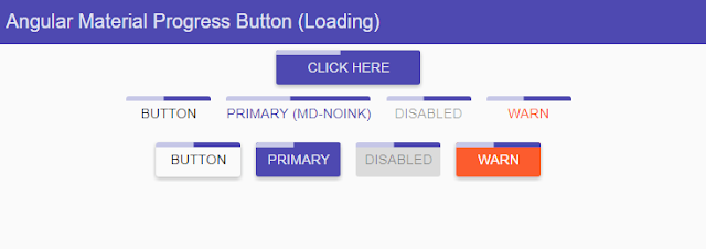 Angular Material Progress Button