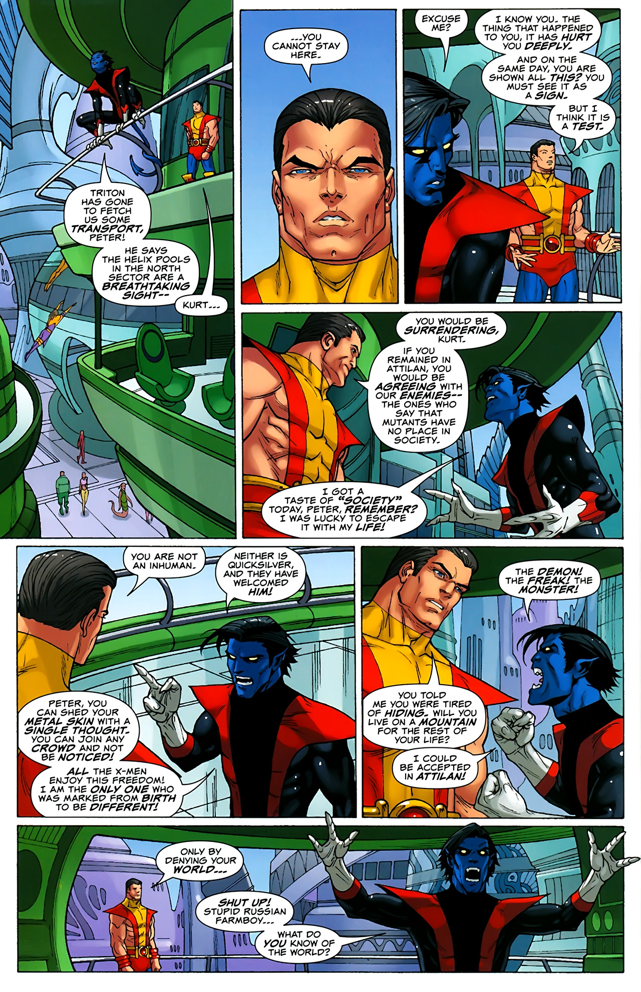Read online Uncanny X-Men: First Class comic -  Issue #1 - 18