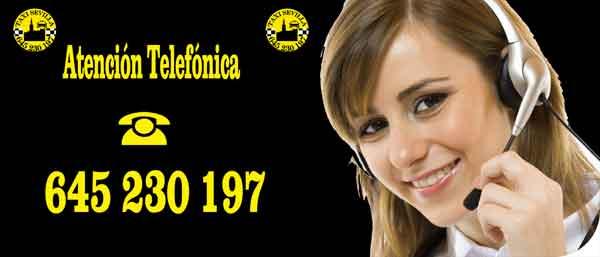 Atención telefónica Taxi Sevilla