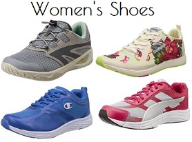 Women's Sports Shoes – Min 40% Off starts from Rs. 1,252 @ Amazon