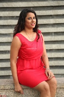Shravya Reddy in Short Tight Red Dress Spicy Pics ~  Exclusive Pics 107.JPG