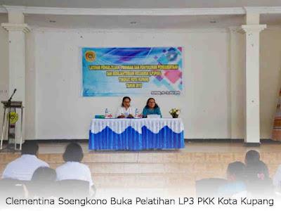 Clementina Soengkono Buka Pelatihan LP3 PKK Kota Kupang